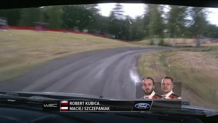 Kubica dachował w Finlandii
