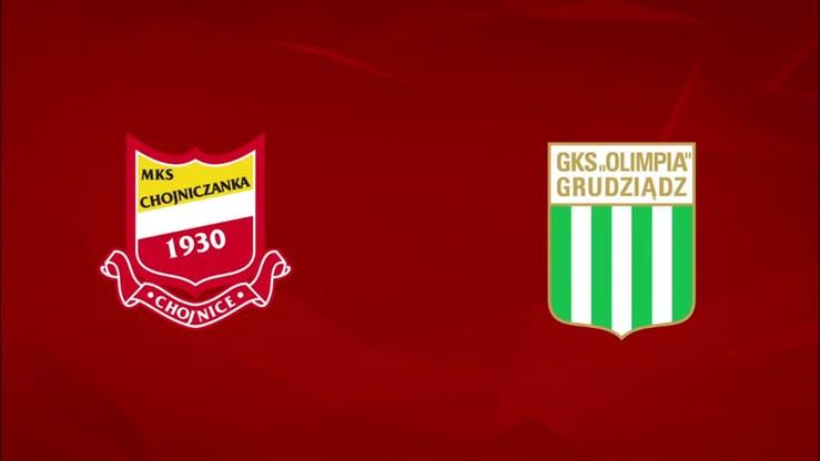 2015-08-24 Chojniczanka Chojnice - Olimpia Grudziądz 2:1. Skrót meczu