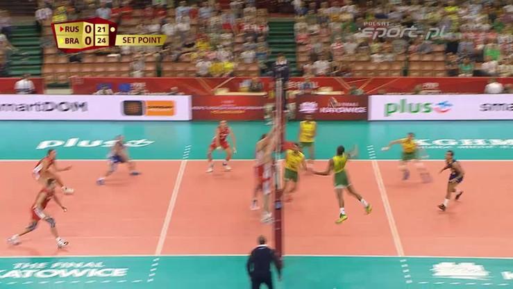 Brazylia - Rosja 3:1. Skrót meczu