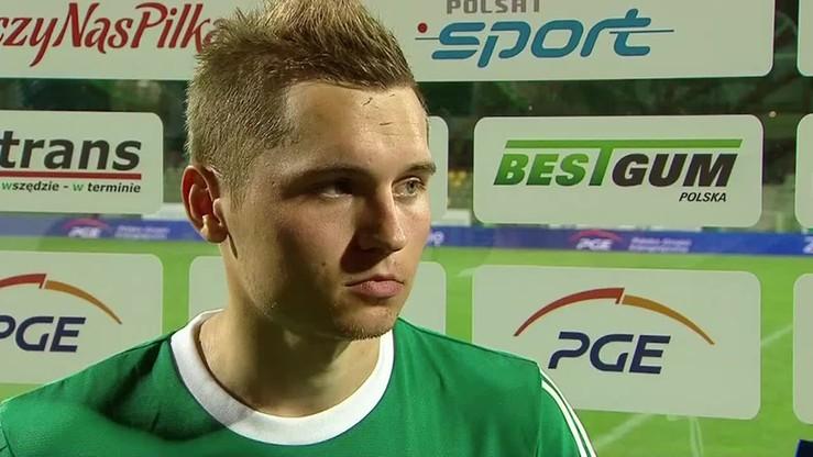 2015-09-18 Demianiuk: Gol cieszy, ale szkoda straconych punktów