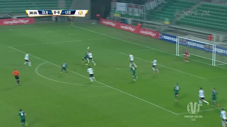 Śląsk Wrocław - Legia Warszawa 1:1. Skrót meczu