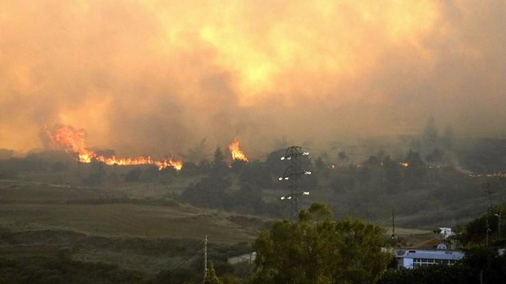 Groźny pożar na Gran Canarii. Masowe ewakuacje