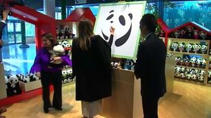 Chiny: Melania Trump odwiedziła pandy