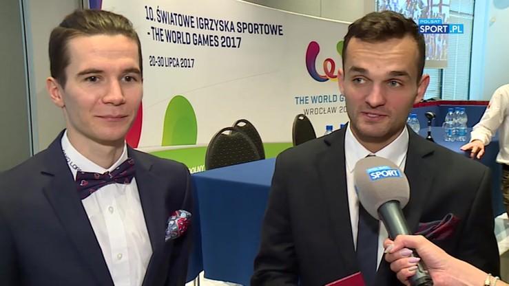 Zmarzlik i Dudek: W takiej imprezie jak The World Games jeszcze nie braliśmy udziału