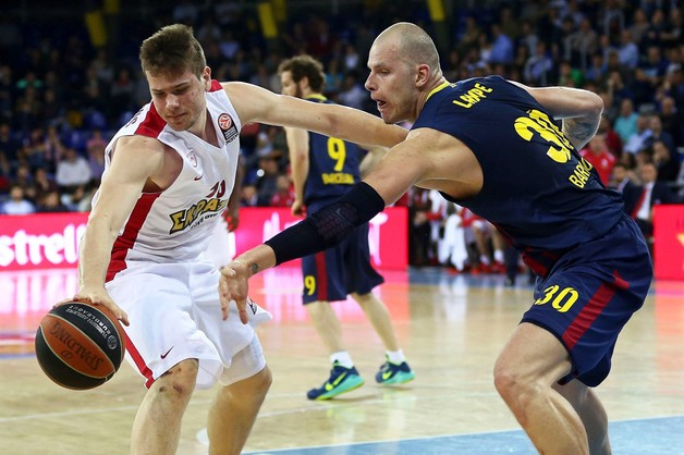 Euroliga koszykarzy – porażka Barcelony z Olympiakosem w 1/4 finału
