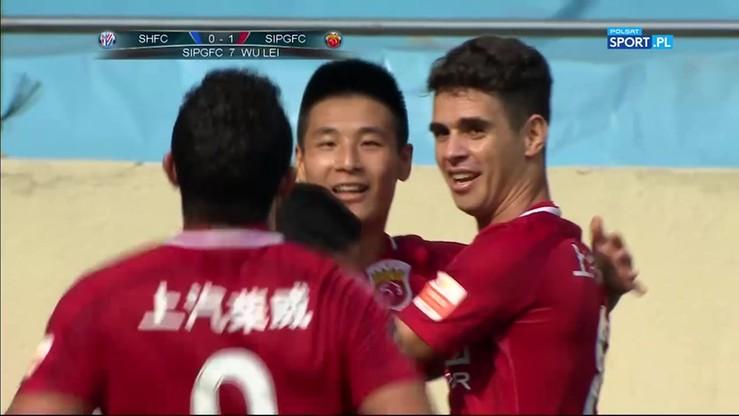 Shanghai Shenhua - Shanghai SIPG 1:3. Skrót meczu