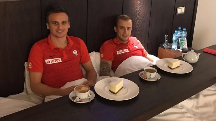Kadrowicze odpoczywają przed meczem ze Słowenią. Grzecznie