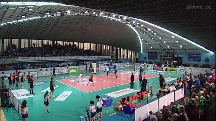 2015-10-31 MKS Będzin - Jastrzębski Węgiel 2:3. Skrót meczu