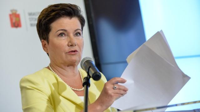 Gronkiewicz-Waltz: brak referendum to możliwość spokojnej dalszej pracy