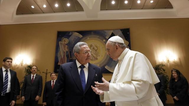 Raul Castro odwiedził papieża
