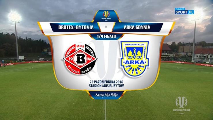 Drutex-Bytovia - Arka Gdynia 2:1. Skrót meczu