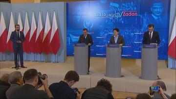 20-01-2017 13:50 Premier spotkała się z Ziobrą i Kamińskim.  Kontynuacja przeglądu ministerstw