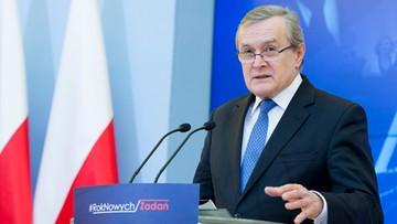 """14-09-2017 11:12 """"Polska opozycja uwielbia szukać afer"""". Gliński o """"aferze billboardowej"""""""