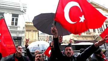 13-03-2017 22:29 Turcja zawiesiła kontakty dyplomatyczne z Holandią
