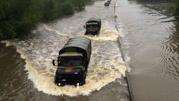02-06-2016 19:13 Powódź we Francji: kilka tysięcy ewakuowanych. Luwr zamknięty