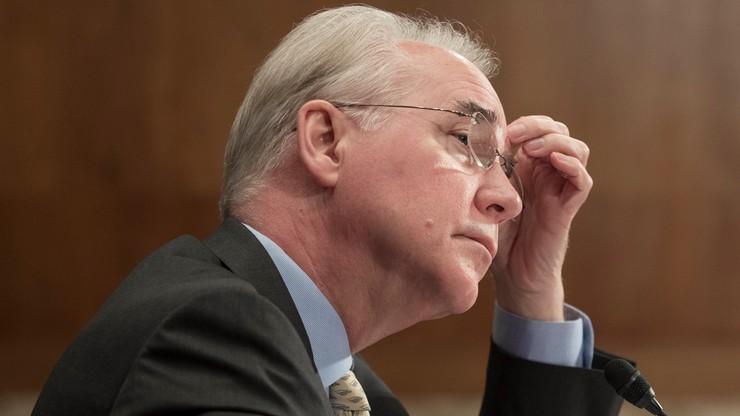 Minister zdrowia USA podał się do dymisji. Jego luksusowe podróże kosztowały ponad milion dolarów