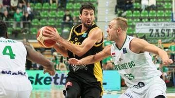 2016-11-29 Liga Mistrzów FIBA: Stelmet BC Zielona Góra pokonał AEK Ateny