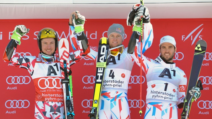 Alpejski PŚ: Pinturault po raz drugi wygrał slalom gigant w Hinterstoder