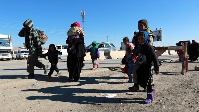 Irak: Ponad milion ludzi uciekło od października z Mosulu