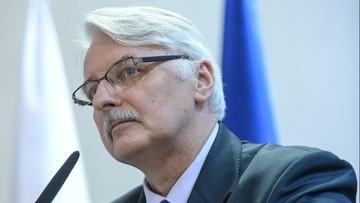 14-03-2016 10:45 Waszczykowski: UE może uzależniać kontakty z Rosją od ustępstw ws. Sawczenko