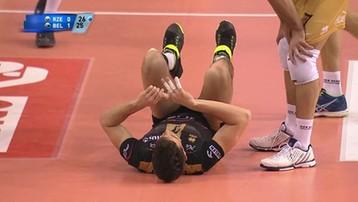 2016-02-10 Twardziel Conte. Chociaż ucierpiał, to kontynuował grę! (WIDEO)