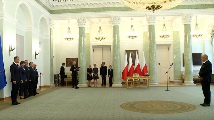 Prezydent odebrał ślubowanie od nowego sędziego TK Justyna Piskorskiego