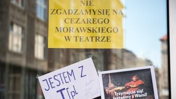 29-08-2016 19:39 Aktorzy chcą dyrektora z Nowoczesnej. Marszałek woli nowego