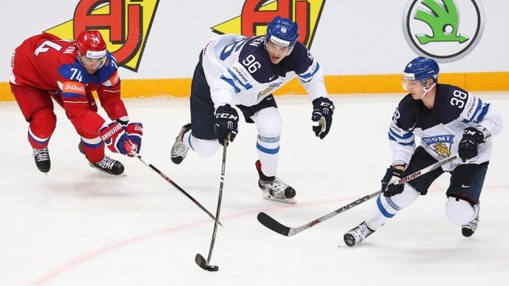 MŚ w hokeju: Finlandia pokonała Rosję i zagra w finale!