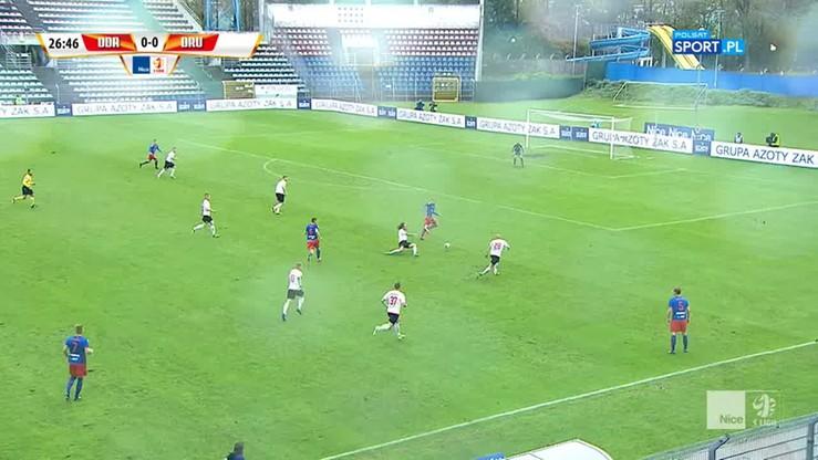 Odra Opole - Drutex-Bytovia 1:0. Skrót meczu