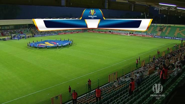 Górnik Łęczna - Legia Warszawa 0:2. Skrót meczu