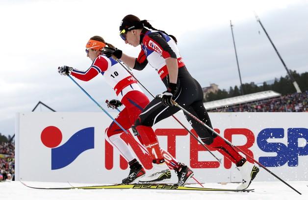 Kowalczyk awansowała do finału sprintu narciarskich MŚ