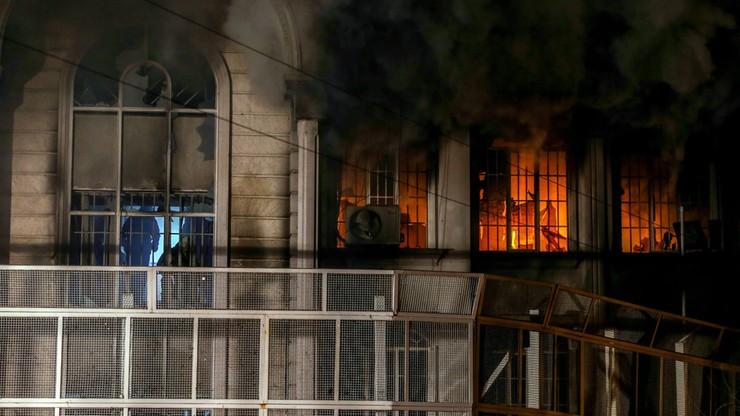 Prezydent Iranu ukarze demonstrantów za podpalenie ambasady saudyjskiej