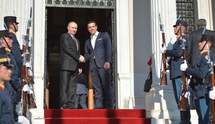 Putin rozpoczął dwudniową wizytę w Grecji
