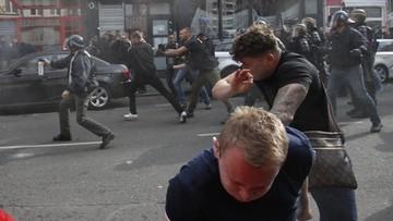 16-06-2016 09:05 Zatrzymania, deportacje, ranni w szpitalach. Bilans starć kibiców w Lille