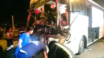 Wypadek autobusu z polskimi turystami w Turcji. Są ranni