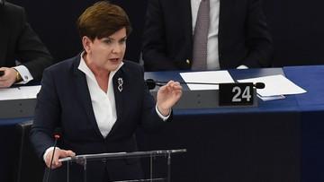 19-01-2016 21:40 Wielka Brytania: dobre, koncyliacyjne wystąpienie Szydło w PE