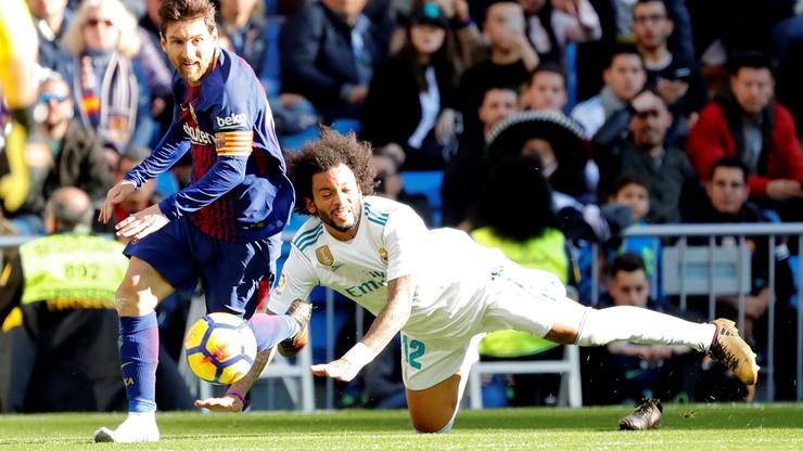 Messi zaliczył asystę w El Clasico... bez buta!