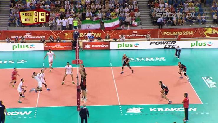 Belgia - Iran 1:3. Skrót meczu