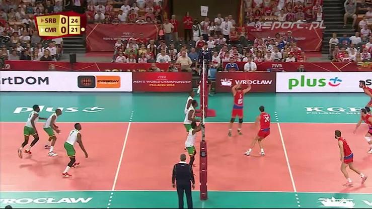 Serbia - Kamerun 3:1. Skrót meczu