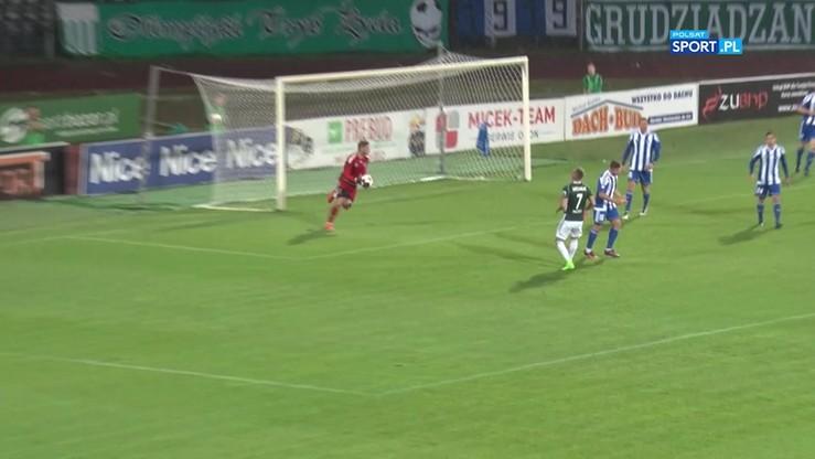2017-09-11 Olimpia Grudziądz - Ruch Chorzów 1:0. Skrót meczu