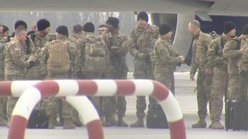 Pierwsze grupy amerykańskich żołnierzy we Wrocławiu i Żaganiu