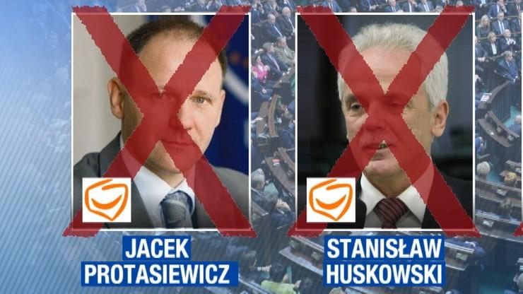 Protasiewicz i Huskowski odwołali się od decyzji o wykluczeniu z PO