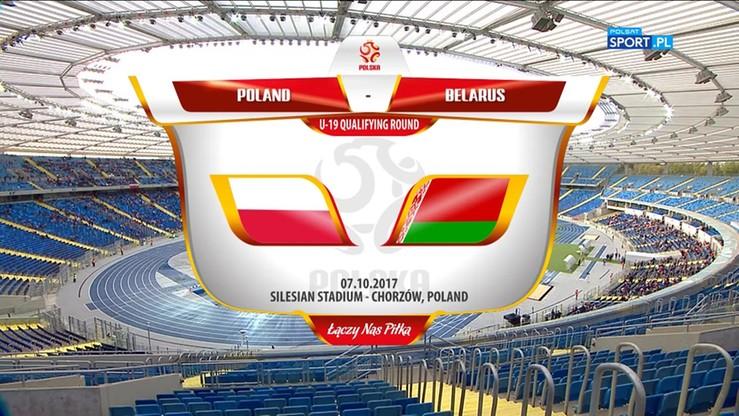 El. ME U-19: Polska - Białoruś 3:0. Skrót meczu