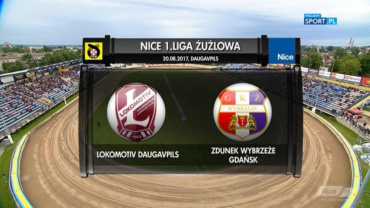 2017-08-20 Lokomotiv Daugavpils - Zdunek Wybrzeże Gdańsk 46:44. Skrót meczu