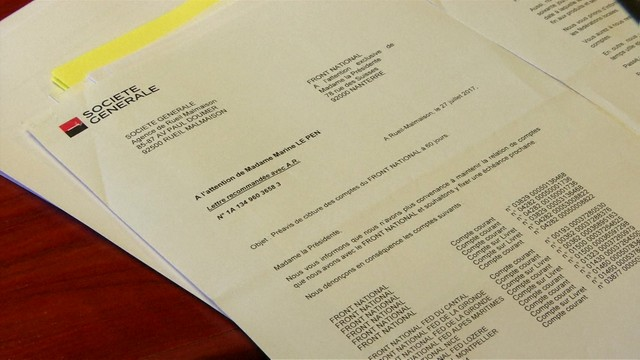 Francja: bank zamknął konta Frontu Narodowego