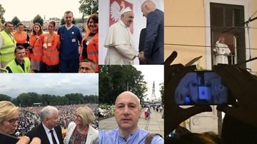 30-07-2016 08:22 Były minister wolontariuszem, selfie wicemarszałka i premier w tłumie. Czyli politycy i Światowe Dni Młodzieży