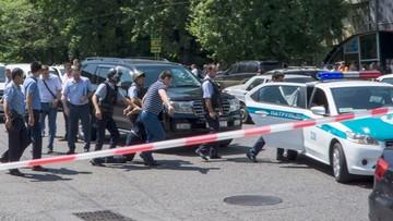 18-07-2016 22:01 Zaatakował komisariat, zabrał broń i zabił policjantów. Operacja antyterrorystyczna w Kazachstanie