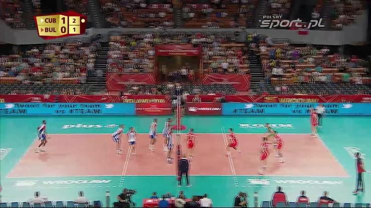Kuba - Bułgaria 3:0. Skrót meczu