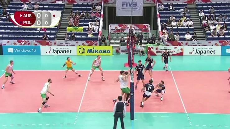 Polska - Australia 3:0. Skrót meczu