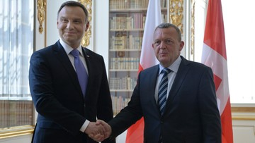 09-06-2016 16:00 Prezydent: Polska i Dania zgodne ws. niebezpieczeństw stojących przed NATO